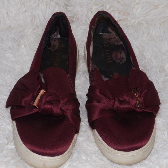 Ted Baker London Deyor Bow Sneakers 4